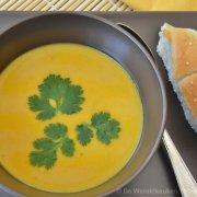 Pompoensoep met Thaise curry